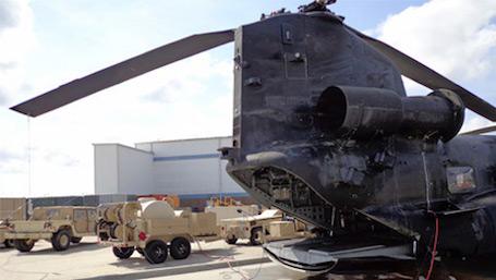 TAWS next to aircraft