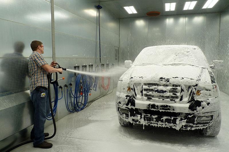 Washing truck