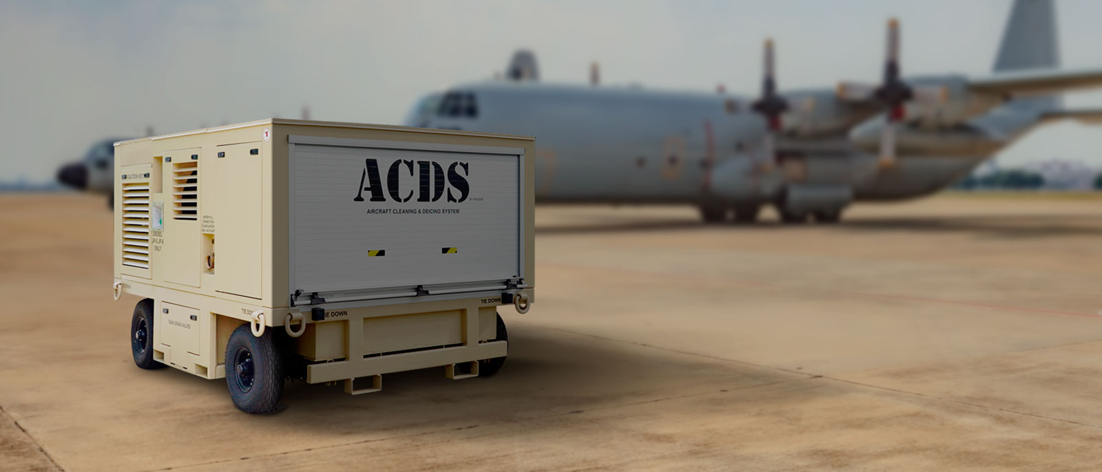 ACDS in front of large aircraft